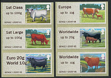 WINCOR TYPE II CATTLE WITH DUAL VALUE EURO 20g/WORLD 10g COLL SET/6 POST & GO
