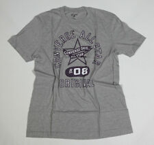 NUEVO All Star Converse Camiseta Camisa Para Hombres Chucks GRIS T. M 18 #239