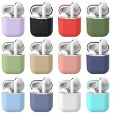 Case For Apple Airpods 1 2 Earphones Silicone TPU Soft Skin Charger Cover