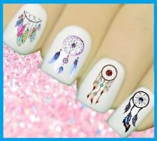 3D Dream catcher Aztec Nail Art Design Decals Water Transfers Stickers #156