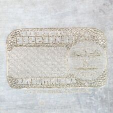 American Bank Note Company: Tennessee Printing Plate