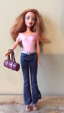 My Scene Barbie Doll Kenzie Shopping Spree Mall Must Have W Red Hair & Freckles