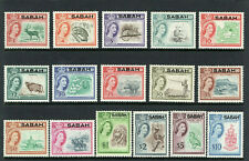 SABAH - MALAYA - NORTH BORNEO - 1964 - COMPLETE SET OF STAMPS - MINT NOT HINGED