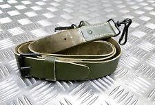 véritable vintage military distribution cuir vert bandoulière pour sacoche sac