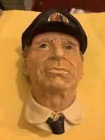 bossons chalkware head- Sea Captain (rtd.)Norman Rockwell-Marked As & 1972-CLEAN