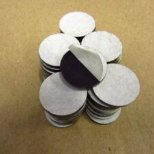 "50PCS 1"" SATIN BLACK P95 ACRYLIC PLEXIGLASS 1/8"" PLASTIC SHEET CIRCLE DISC"