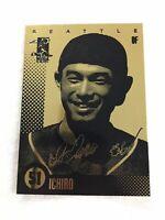 ICHIRO SUZUKI 2003 AUTOGRAPHED LIMITED EDITION 23KT GOLD CARD! 3,000 HITS!