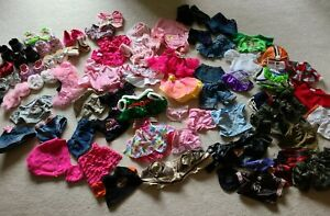 LOT of BAB BABW Build A Bear Workshop Clothing Clothes Outfits Shoes Accessories