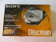vintage: SONY DISCMAN cd-player D-170AN * complete in box *