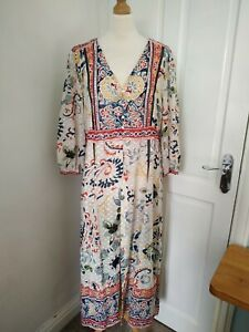 New Zara L Midi Maxi Kimono Cover Up Dress BNWT RRP £49.99