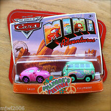 Disney PIXAR Cars MINI ADVENTURES Fillmore's Festival SALLY & FILLMORE 2pk peace