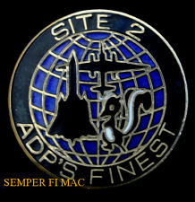 SR-71 BLACKBIRD U-2 ADP SITE 2 HAT LAPEL PIN US AIR FORCE SKUNK WORKS AFB WOW