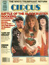 Stevie Nicks Steven Tyler Rick Nielsen CIRCUS magazine Oct 30 1979