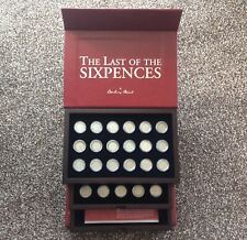 More details for danbury mint - the last of the sixpences - complete coin collection