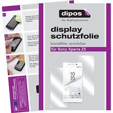 6x Sony Xperia Z5 Protector de Pantalla protectores transparente