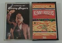 Kenny Rogers Cassette Lot - Classics By Kenny Rogers - Country Songs