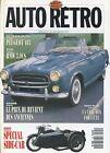 AUTO RETRO n°125 JANVIER 1991 BMW 3.0CS PEUGEOT 403 CORVETTE SIDE CARS
