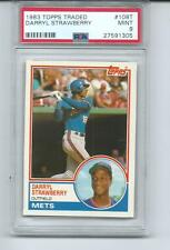 1983 TOPPS TRADED RC DARRYL STRAWBERRY #108T PSA 9 MINT