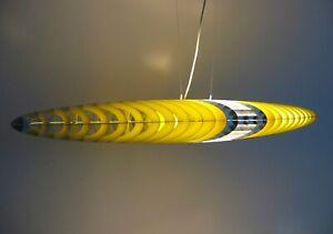 Luceplan Original TITANIA Design Pendelleuchte mit Kugelabhängung Ufo Lampe