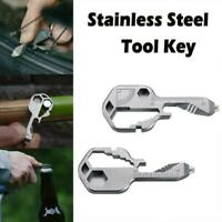 16+ DISRUPTIVE MULTI TOOL KEY FUNCTION STAINLESS STEEL Geekey New