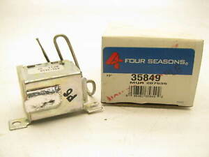 Four Seasons 35849 A/C Clutch Cycle Switch - Temperature Switch - 207535 A8048
