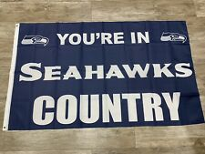New listing Seattle Seahawks Country Flag 3x5 Man Cave Banner Fast Ship From Ca 2020 Wilson
