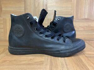 RARE🔥 Converse All Star Chuck Taylor Ruberized Black Sneakers Sz 11 Men's Shoe