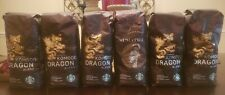 6 Lbs Lot Komodo Dragon & Sumatra Starbucks Whole Bean Dark Roast Coffee 6-7/21
