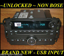 NEW 2009-2015 Chevy Express Van/ SILVERADO GMC CD Radio USB & MP3 Input UQ3/UQ5