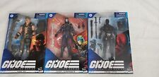 GI Joe Classified Cobra Commander, Gung Ho, Snake Eyes MISB