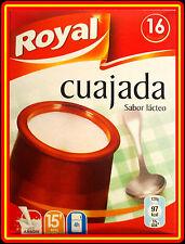 SPANISH -  CUAJADA  4 SACHETS X 16 PORTIONS - *** TASTY DESSERT ***