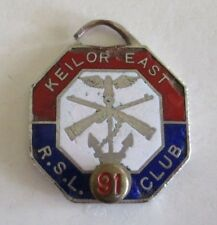Keilor East - Returned and Services League (RSL) - Club Membership Badge - 1991