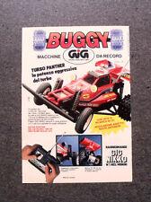 I191-Advertising Pubblicità-1988- BUGGY TURBO PANTHER RADIOCOMANDATO , GIG