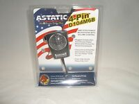 ASTATIC D104M6B 4PIN CB AMPLIFIED CERAMIC POWER HAND MICROPHONE FOR COBRA UNIDEN