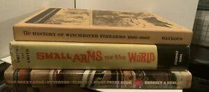Vintage Book Lot 1960's Guns Weapons History Ammunition Firearms