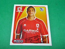 N°423 MIDO MIDDLESBROUGH MERLIN PREMIER LEAGUE FOOTBALL 2007-2008 PANINI