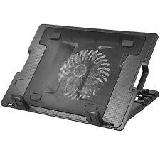 "TRIXES Laptop Ständer  1 LED Ventilator  Blau 1 USB Ausgang  Ideal für 9"" - 17"""