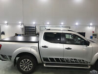 Nissan NP300 NAVARA 2016-18 nguard style side stripes decal graphics decals