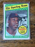 Willie McCovey 1969 Topps All-Star