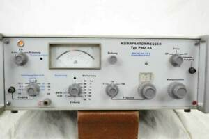Klirrfaktormesser PMZ-8A - Zopan