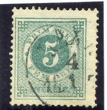 SWEDEN;  1877-79 early classic ' ore ' issue fine used 5ore. fair