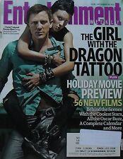 DANIEL CRAIG ROONEY MARA The Girl With The Dragon Tattoo 2011 Entertainment Wkly