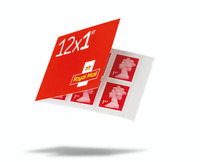 3 Books of 12 × 1st First Class Stamps, Self Adhesive, NEW Unused FAST POSTAGE
