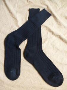 lot 3 paires chaussettes militaires laine noire hiver taille 39-41 Rangers