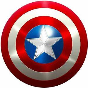 Captain America Shield - Metal Prop Replica - Screen Accurate - 1:1 Scale Shield