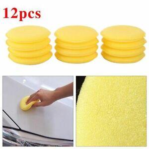12Pcs Cars Waxing Foam Sponge Polish Applicators Cleaning Detailing Pads Sale