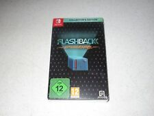Flashback 25th Anniversary Collector's Edition Nintendo Switch Import Sealed