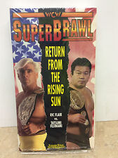 WCW SuperBrawl Return From The Rising Sun 1991 VHS in original sleeve