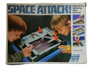 Vintage Action GT Space Attack Game 1983