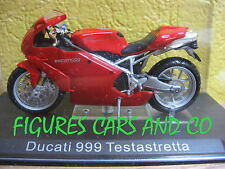 MOTO 1/24 DUCATI  999 TESTASTRETTA  COLLECTION GM  MOTORCYCLE